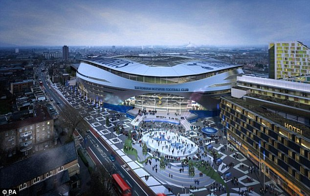 Spurs New Stadium Plans All Shiny Shiny But Don T Forget